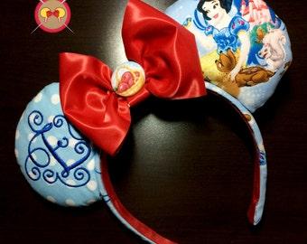 Snow White Mickey Ears Headband
