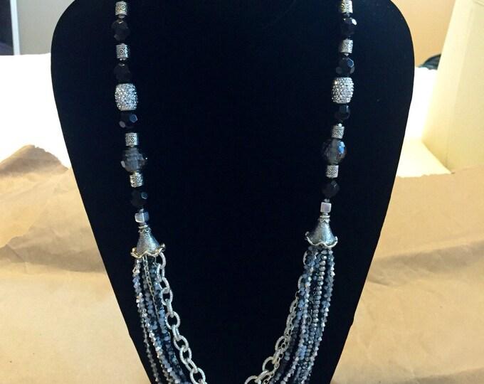 Girlish-garrish necklace