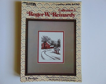 Roger W. Reinardy Collection I cross stitch Leisure Arts Leaflet 248 -1983