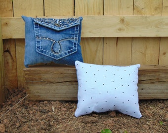 Jean Pocket Pillow