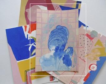 grzybica postcard