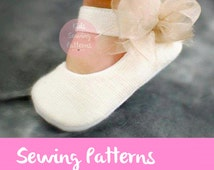 Baby shoe Sewing pattern, girls shoes, Baby pattern, kids patterns pdf, Party shoe pattern,  Girls pattern, clothing girls patterns, BAUTISM