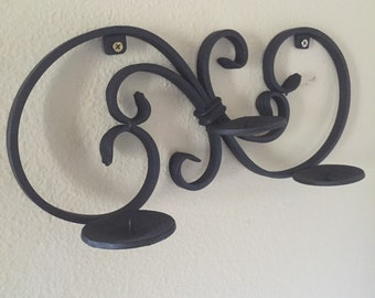 Candle holder- 3 candle wall sconce