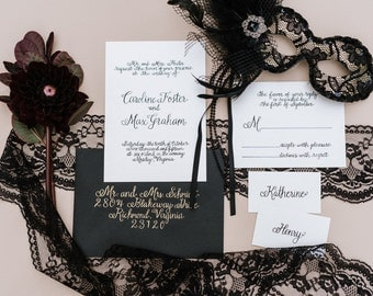 Modern Calligraphy Envelopes - Kelsey Style