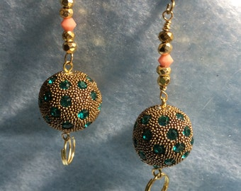 Crystal Ball Earrings #5