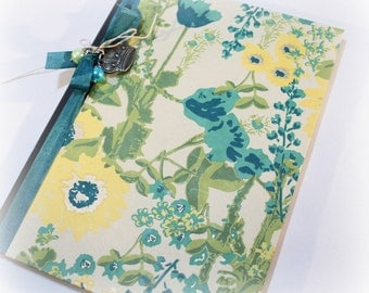 Journal, Personal Diary, Lined, Blank, Floral, Diet, Travel, Exercise, Dream, Meditation, Prayer, Garden, Writing Journal, Personal Notebook