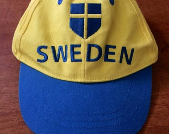 Sweden Yellow Hats Youth size Great Condition