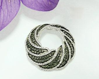 Sterling silver moissanite pendant, moissanite pendant, silver pendant, pendant, silver jewelry, cubic zirconia pendant, gemstone pendant