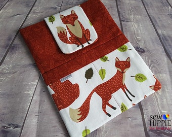 """iPad Tablet Sleeve Cover 10"""" Montreaux Foxes"""