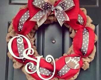 OSU Buckeye Wreath/ Ohio State Wreath