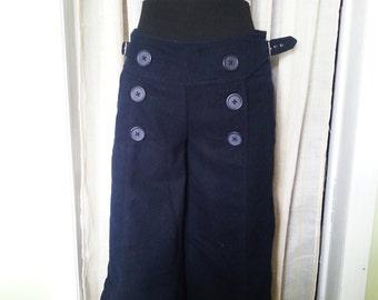 vintage sailor woman pants