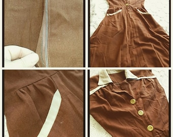 Vintage Autumn Dress