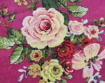 """43"""" Wide Pink Floral Print Fabric Craft Supply Fabric Dressmaking Material Fabric For Sewing Upholstery Pure Cotton Fabric By 1 Yard ZBC5508"""