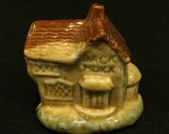 Wade Whimsies Nursery Rhymes - House Jack Built - CA 1970's - Item NR6B