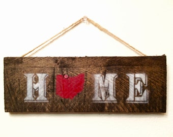 "Ohio ""HOME"" Sign"