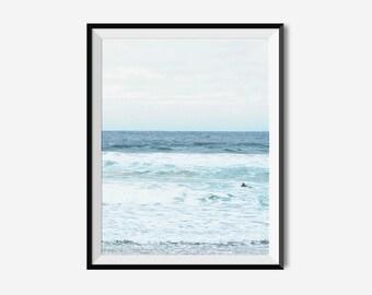Beach Art, Ocean Photography, Beach Photography, Australia Art, Landscape Prints, Australia Photography, Beach, Ocean Print, Digital Prints
