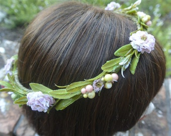 Blush Flower Crown  CLEARANCE
