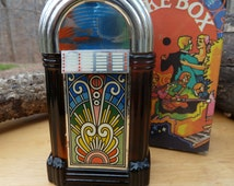 Vintage Avon Bottle - Juke Box - Wild Country After Shave