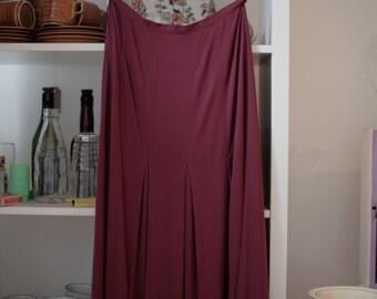 Classic original vintage Jean Muir skirt