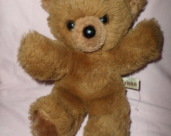 Vintage Russ Bear Trissa  brown 9""
