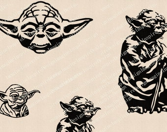 Yoda Assorted Clipart Transfer Images - Requested