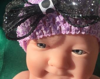 Babys todller infant headbnd hair bow bowknot headdress hairband baby girl photography