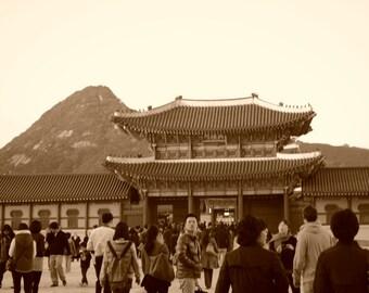 Seoul, Korea Palace Photo