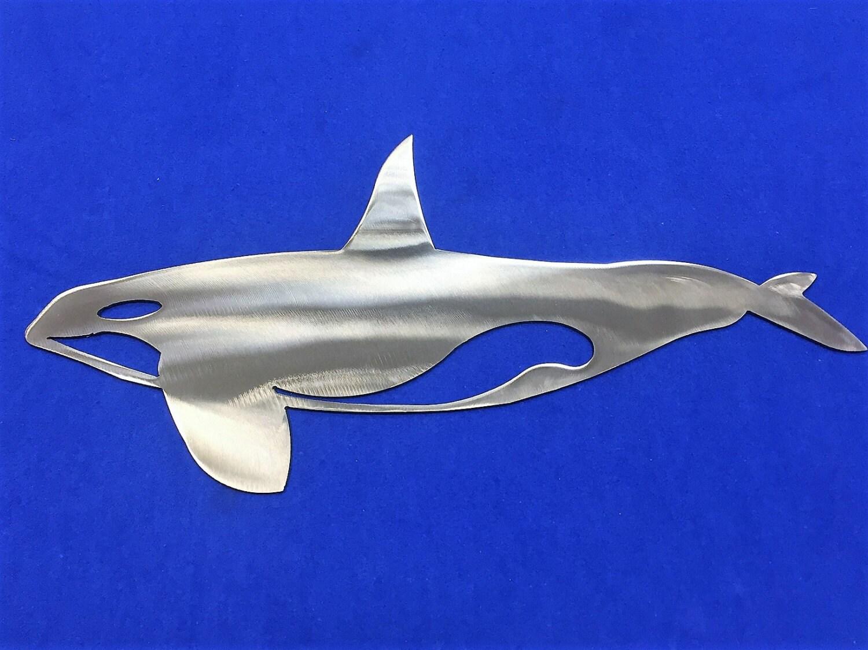 Metal Whale Decoration