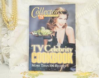 Celebrity Cookbook/TV Guide Collector's Edition/Vintage Celebrity Cookbook/Recipe Cookbook/TV Celebrity Cookbook/Dr.Ruth/TV Star's Recipes