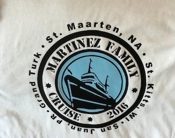 Customized Family Cruise Shirt