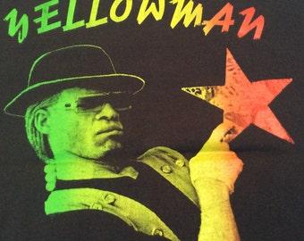 1992 YELLOMAN EUROPEAN TOUR Made in U.S.A Vintage Promo Shirt