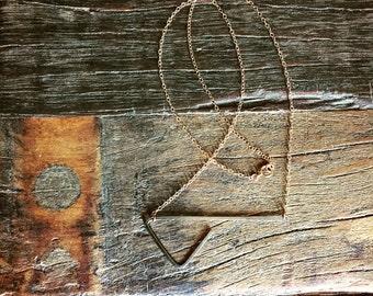 Triangular Asymmetric Necklace