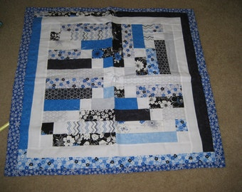 Blue Quilt Table Runner