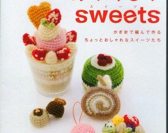 2846 Sweets Amigurumi food Japonese book Crochet sweets Pdf Crochet cake Play food