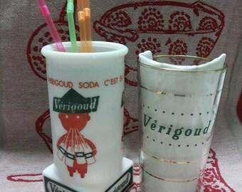 Straw Verigoud Soda, 1 glass and 1 door