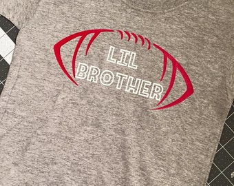Football Lil Brother T-Shirt