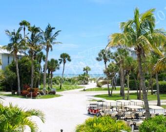 Tropical Resort || PHYSICAL PRINT