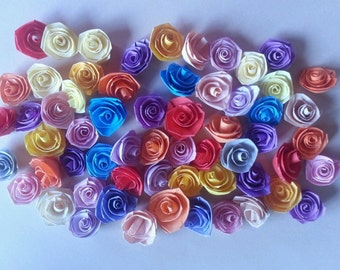 Quilling Quilled Paper Mixed lot of Handmade Roses Scrapbooking & Card Making