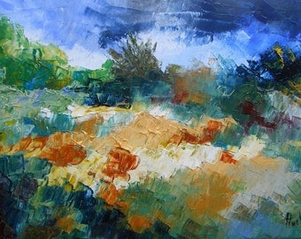 Painting wild Landes