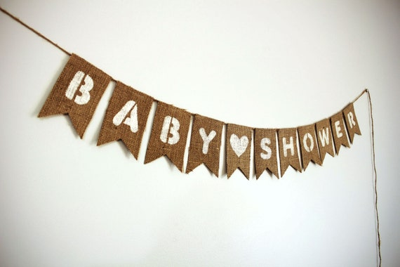 baby shower banner burlap baby shower banner rustic baby shower baby