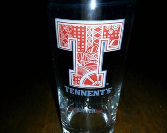 Tennents Pint glass