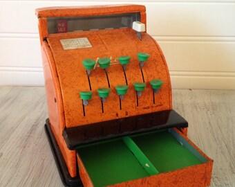 1950s Aster toy cash register