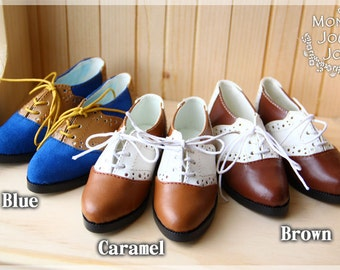 BJD Oxford shoes For SD10 / SD13 / SDGr Boy's doll shoes