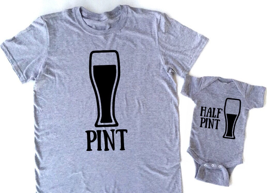 pint half pint matching father and son daddy and son family