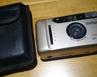 Vivitar AF450 Panorama - compact 35mm film camera - 28mm wide lens+macro
