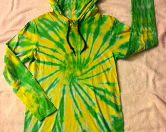 Hoodie Yellow and Green