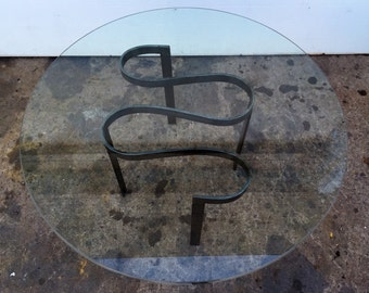 Unique Sculptural Iron Coffee Table