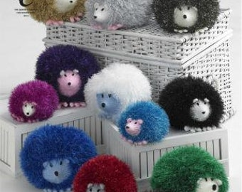Hedgehog Family Knitting Pattern