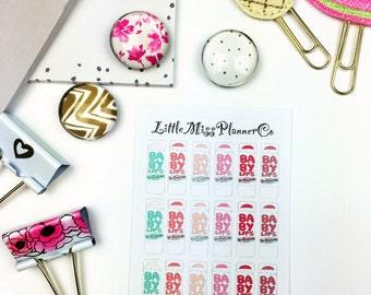 Mini Baby Lips sticker!