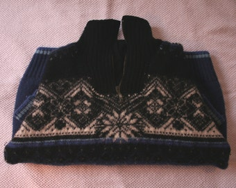 Dale norwegian wool jumper alpine/apres-ski/scandi/retro-ski